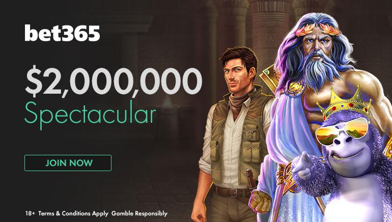 Partecipa alla spettacolare offerta di 2 milioni di dollari su bet365