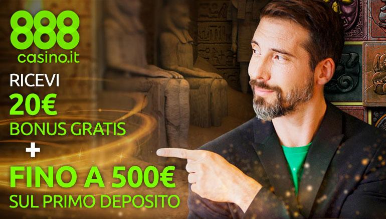 Nuovo imperdibile bonus di benvenuto su 888 Casino!