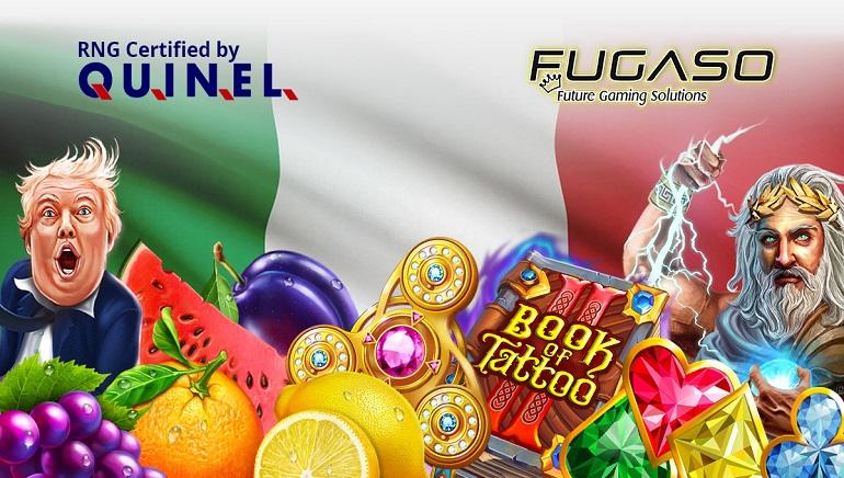 Fugaso riceve la licenza italiana di Gaming