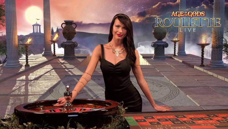 La Live Roulette Age of the Gods assegna il più grande Jackpot omni-channel di sempre