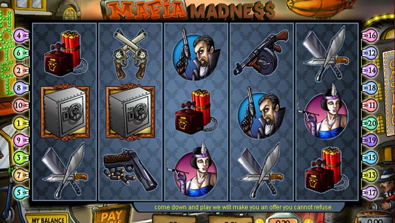 Mafia Madness - 100 Giri Gratis