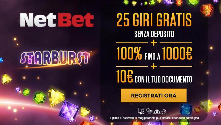 Netbet Casino Italy Starbrust